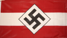 HITLER YOUTH (NAZI) - 5 X 3 FLAG